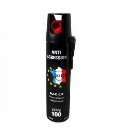 BOMBE LACRYMOGENE 75ml GAZ lacrymogène