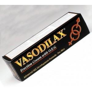 VASODILAX crème pour l'érection