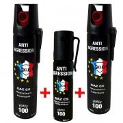 lot promo bombe lacrymogene gaz CS