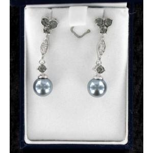 Swarovski boucles d'oreilles perles