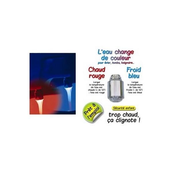 Embout robinet pour eau lumineuse embout robinet led de for Tout pour la maison en ligne