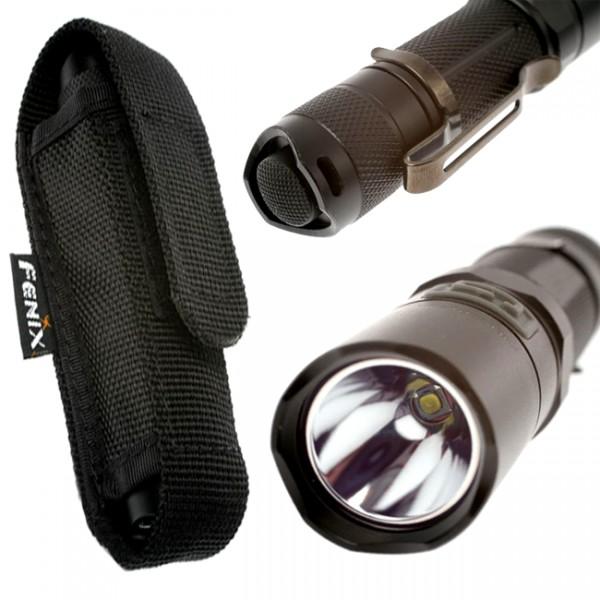 achat lampe de poche led fenix de 125 lumens avec mode sos. Black Bedroom Furniture Sets. Home Design Ideas