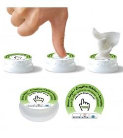 LOT DE 10 x Push N'Use : Coin Tissu ® prêt à l'emploi !